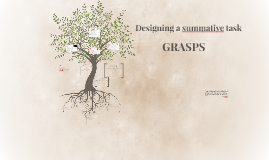 Designing a summative task