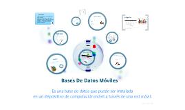 Bases De Datos Moviles