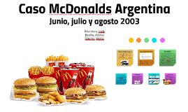 Caso McDonalds Argentina