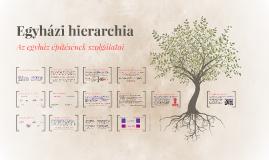 Egyházi hierarchia