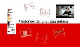 Misterios de lengua polaca