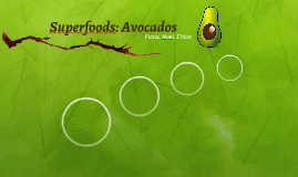 Superfoods: Avocados