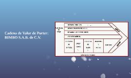 Copy of Cadena de Valor de Porter: BIMBO S.A.B. de C.V.