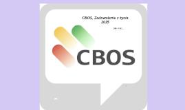 CBOS, Zadowolenie z życia 2015