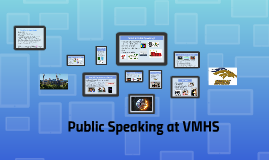 Public Speaking at VMHS