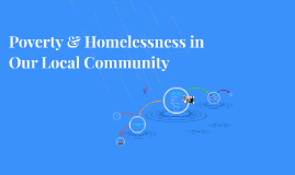 Poverty & Homeless in Our Local Community