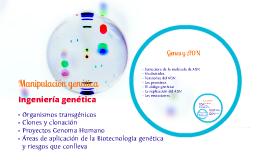 Contenidos U. D. Genética 4º ESO