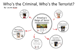 Copy of Who's the Criminal, Who's the Terrorist?