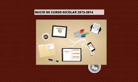 Reunion Inicio Curso Escolar 2013-2014