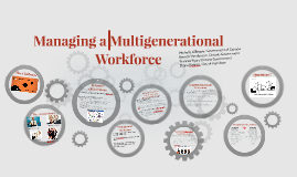 Copy of Multigenerational Workforce