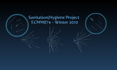 ECMM 874:  Sanitation & Hygiene Project