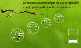 Croissance et environnement