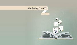 Marketing II - AIU