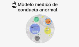 Modelo médico de conducta anormal