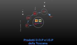 Prodotti D.O.P e I.G.P