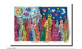 JAMES RIZZI DANCING HOUSE SCULPTURE