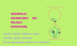 Copy of PRINCIPALES PRECURSORES DEL CALCULO DIFERENCIAL