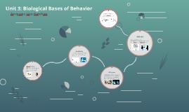 Copy of Unit 3: Biological Bases of Behavior