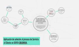 Aplicación de solución al proceso de Servicio al Cliente de SERTA COLOMBIA