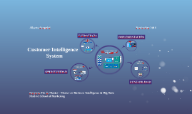 Customer Intelligence System