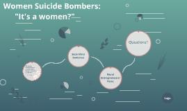 Women Suicide Bombers: