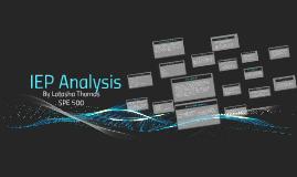 IEP Analysis