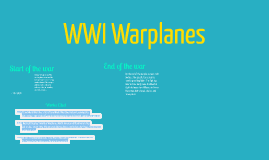 WWI Warplanes