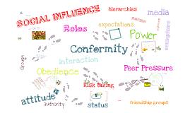 Copy of Social influences