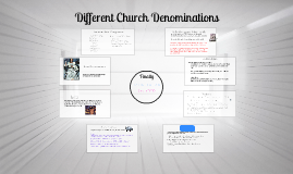 Hazel Dell Church Understanding Different Denominations
