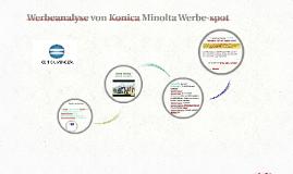 Werbeanalyse von Konica Minolta Werbe-spot