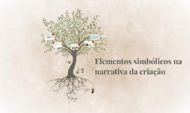 Copy of Elementos simbólicos na narrativa da criação