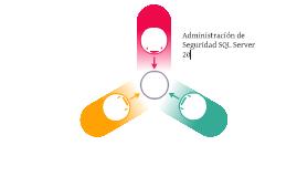 Administración de Seguridad SQl Server 2012