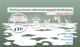 The Privacy of minors within Patient-Centred E-Health System