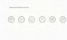Historical Evolution of Law