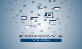 REDES SOCIALES DE contaduría