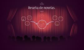 Copy of Reseña de novelas.