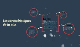 Copy of Les piles, histoire, avantages et inconvénients