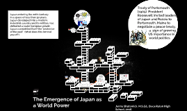 The Emergence of Japan as