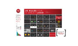 PHd design - 25 rules for a great logo