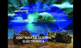 DOCTRINA DE GUERRA ELECTRONICA