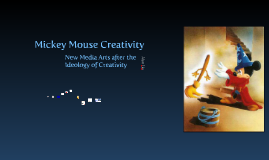 Mickey Mouse Creativity
