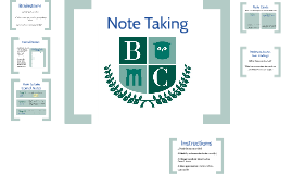 Note Card & Cornell Notes