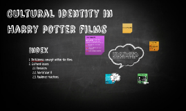 Cultural identity in harry potter films