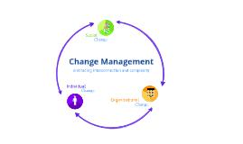 Copy of Framework for Change