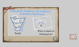 Kindergarten Readiness and Academics