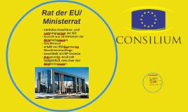 Rat der EU/Ministerrat
