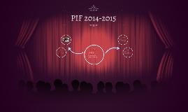 PIF 2014-2015