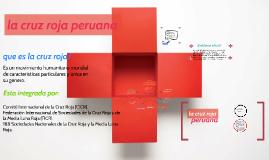 la cruz roja peruana