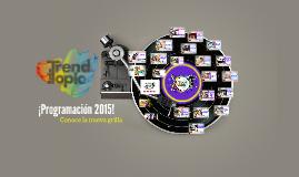 Copy of ¡Programación 2015!