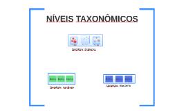 Copy of Níveis taxonômicos - 7º ano
